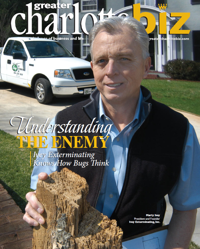 BugIvey Featured in Charlotte Biz